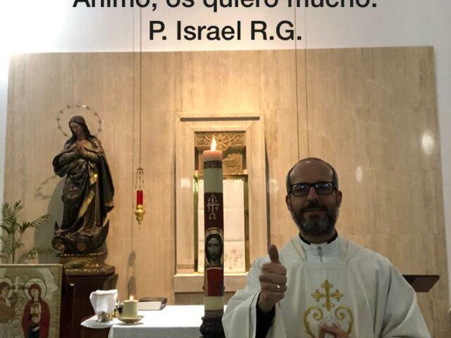 Felicitación padre Israel
