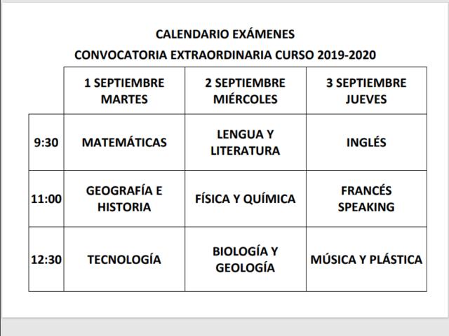 CALENDARIO EXÁMENES SEPTIEMBRE.pdf - Personal_ Microsoft Edge 30_07_2020 12_22_43
